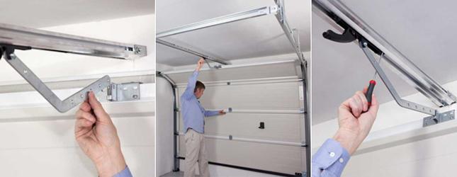 Automatiser une porte de garage porte de garage for Installation porte de garage a ressort