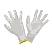 Gants fins de protection