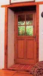 Porte vitrée simple vitrage