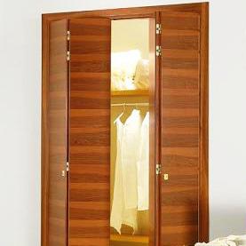 Porte intérieur pliante en bois