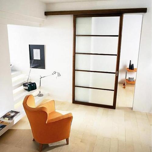 Mat riaux porte d 39 int rieur bois alu ou verre for Prix porte interieure vitree