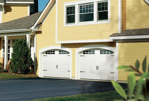 Double garage dimensions portes prix ooreka - Porte garage double ...