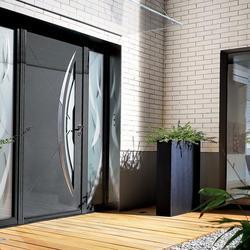Panneau de porte en aluminium