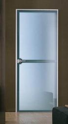 Porte intérieur en verre