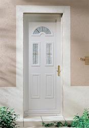 Porte Dentrée PVC Infos Et Conseils Sur La Porte En PVC - Lapeyre porte d entrée