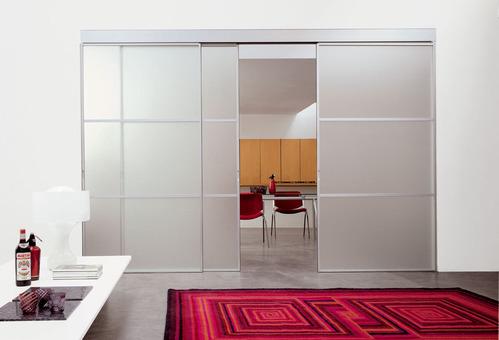Porte coulissante tout savoir sur les portes coulissante - Porte interieure isolation phonique ...