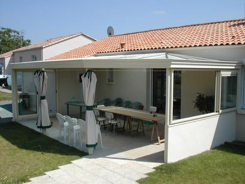 veranda bois et alu construire veranda prix v randa. Black Bedroom Furniture Sets. Home Design Ideas