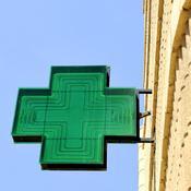 Enseigne d'une pharmacie