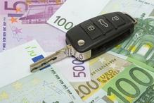 Cle de voiture billets euros