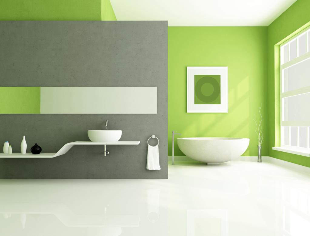 Dynamiser votre salle de bain avec des couleurs acidulées