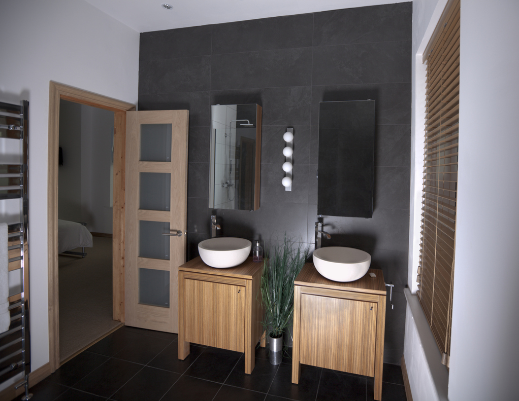 salle de bain blanc teck. Black Bedroom Furniture Sets. Home Design Ideas
