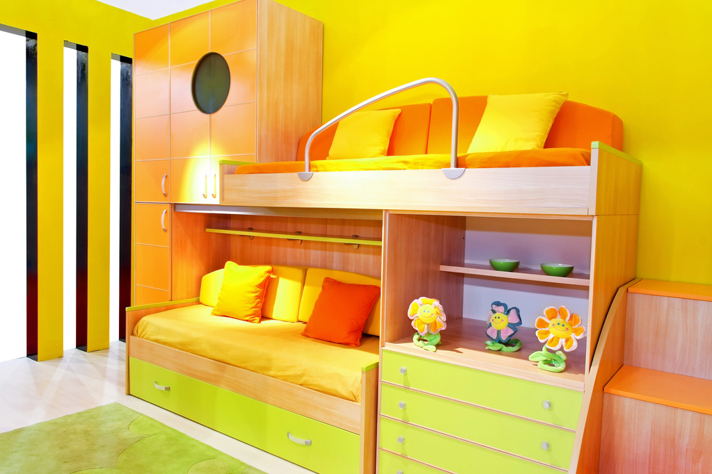 rangements chambre d enfant toutes nos astuces. Black Bedroom Furniture Sets. Home Design Ideas