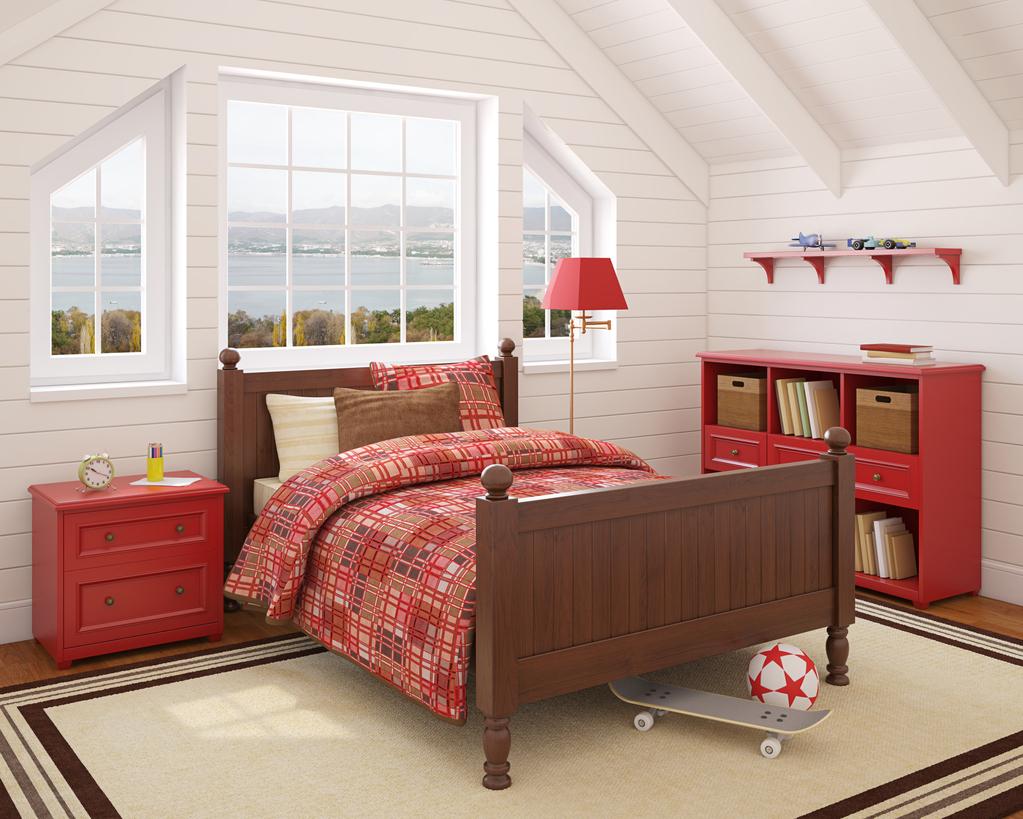 quels meubles placer dans des combles am nag s. Black Bedroom Furniture Sets. Home Design Ideas