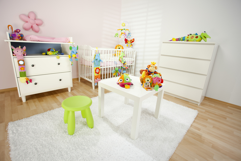 Choix des couleurs de peinture pour une chambre d enfant - Peinture pour chambre de fille ...