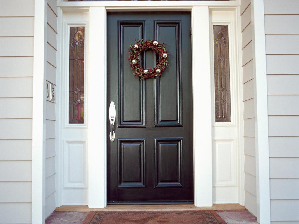 charmant Quelle porte du0027entrée pour quelle façade ?