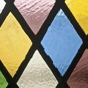 Transformer une porte vitr e en vitrail porte - Comment transformer une porte vitree ...