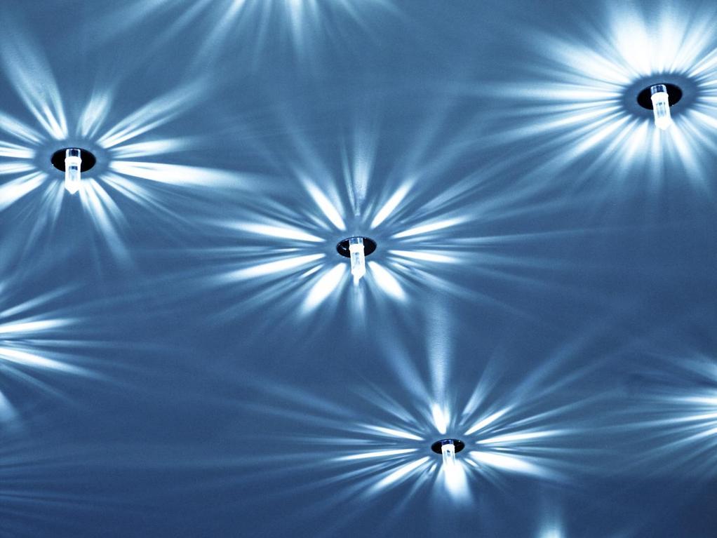 Faire un faux plafond toil avec des lampes led for Faire un plafond