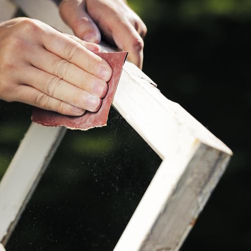Comment réparer l'encadrement d'une fenêtre ancienne?