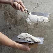 appliquer un enduit de finition sur une cloison en b ton cellulaire mur. Black Bedroom Furniture Sets. Home Design Ideas