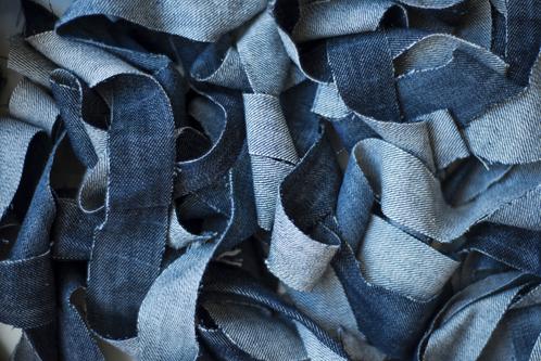 Recyclage de jeans