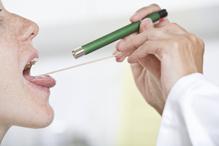Examen palais femme docteur