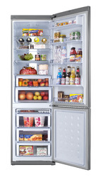 Réfrigérateur avec compartiments pour favoriser chaque type de conservation des aliments