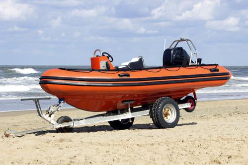 Remorque pour bateau