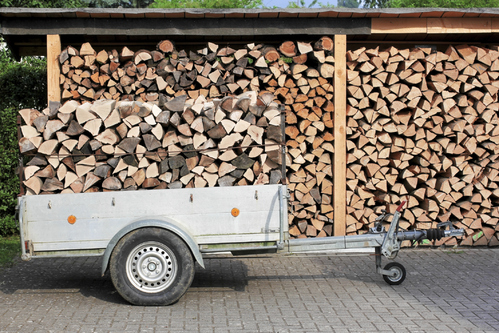 Remorque a bois les diff rents mod les et leurs prix - Prix d un stere de bois ...