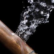 Colmater une fuite sur un tuyau en cuivre