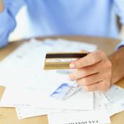 Carte bancaire et papiers