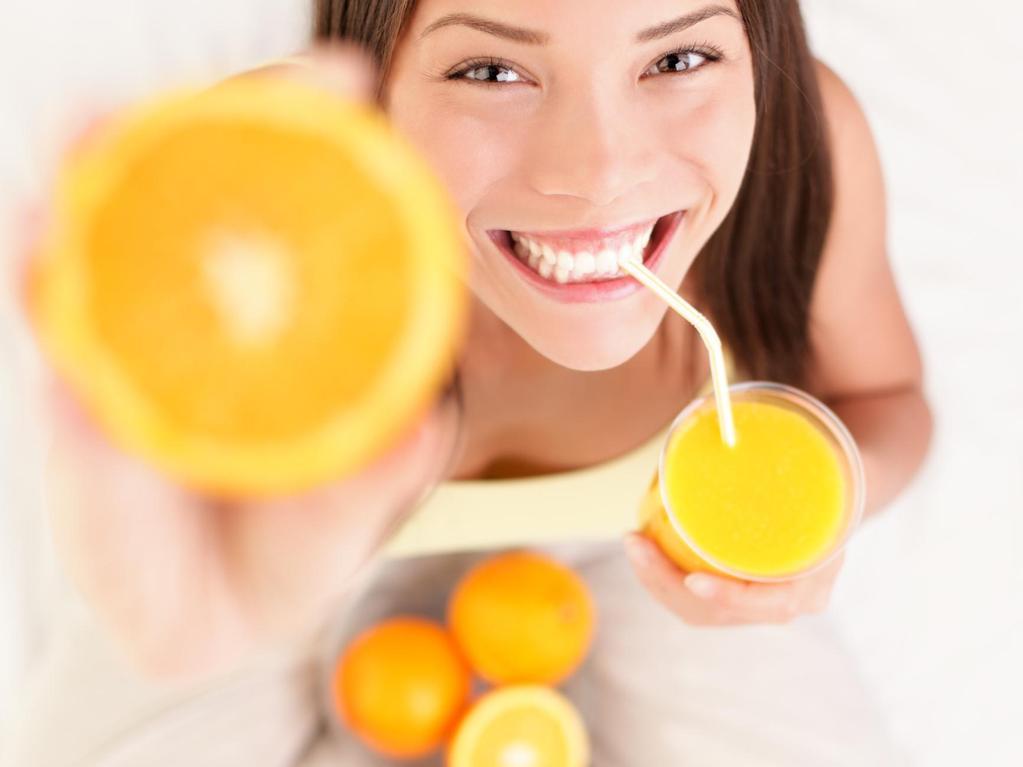 Rester mince et en forme avec la vitamine C