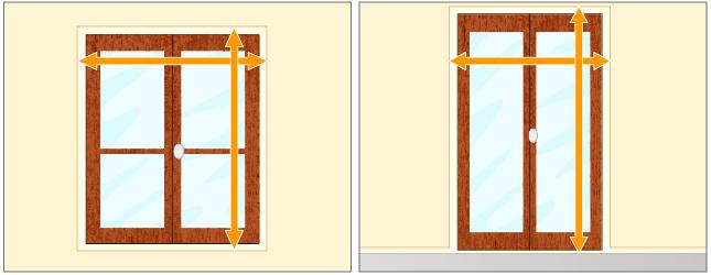 mesurer des rideaux rideaux. Black Bedroom Furniture Sets. Home Design Ideas