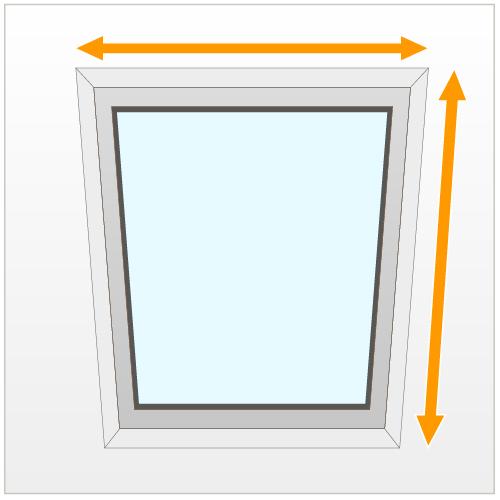 Prenez les mesures de la fenêtre