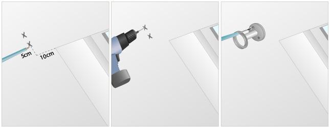 Installer un rideau sur une fen tre de toit rideaux for Installer une barre de rideau