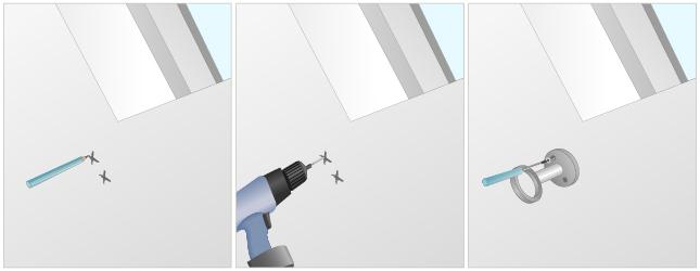 installer un rideau sur une fenêtre de toit - rideaux