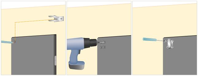 Installer une tringle pivotante rideaux - Tringle pivotante pour porte d entree ...