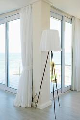 Rail pour rideaux infos et prix des rails pour rideaux for Tringle a rideau fixation plafond