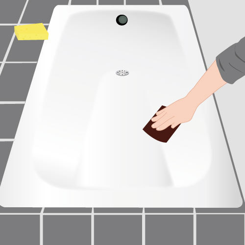Peindre une baignoire salle de bain for Peindre sa baignoire