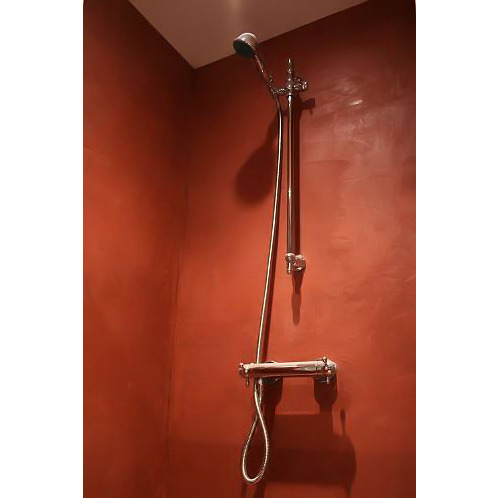 Photo guide de la salle de bain douche en b ton cir - Douche en beton cire ...