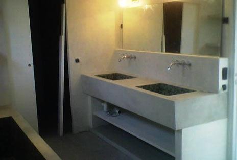 Photo guide de la salle de bain salle de bain avec lavabo en b ton - Lavabo classique salle bain ...