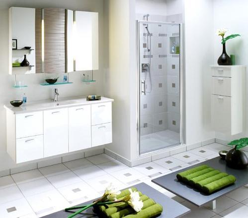 Salle de bain accessoires et meubles de salle de bain - Plan chambre avec salle de bain ...