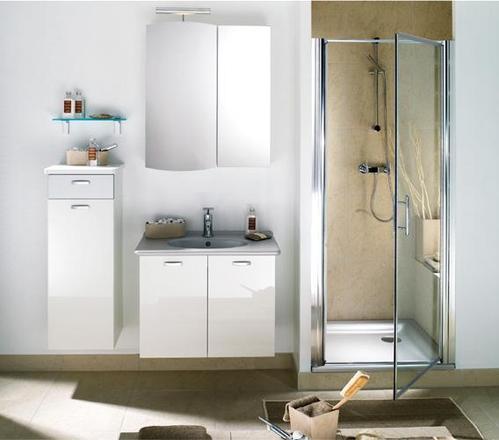 Photo guide de la salle de bain salle de bain avec plan en c ramique effet - Ceramique salle de bain photo ...