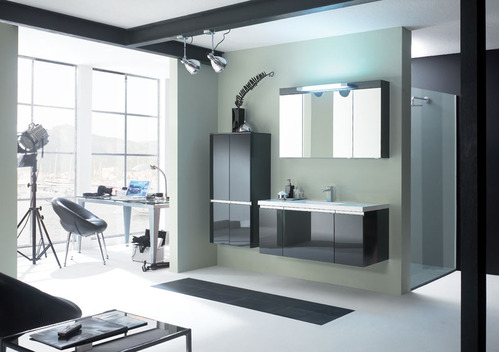 Photo guide de la salle de bain urban - Ustensiles de salle de bain design ...