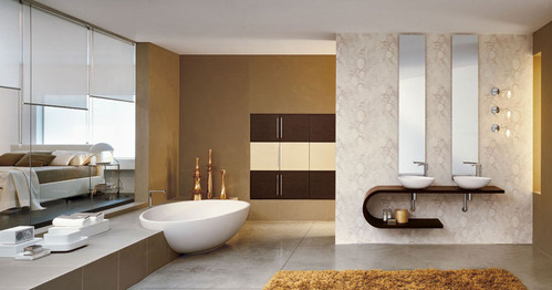 Photo guide de la salle de bain en or - Salles de bains design ...