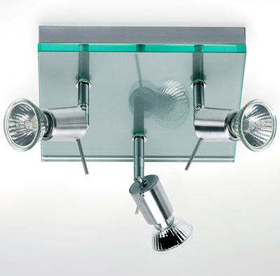 Photo salle de bain lampes halogn ne pour salle de bain for Lampe pour salle de bain