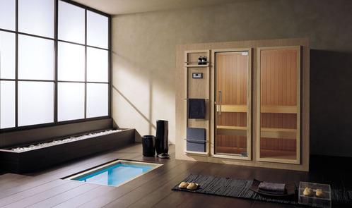 photo guide de la salle de bain salle de bain ext rieure ch ne int rieur hemlock canadien. Black Bedroom Furniture Sets. Home Design Ideas