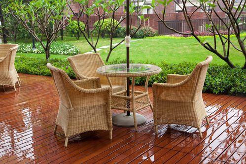 Salon de jardin en rotin : critères de choix et prix - Ooreka