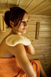 Sauna: après la séance