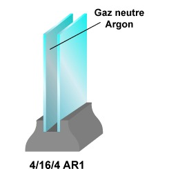 Isolation fenetre double vitrage ooreka for Gaz argon fenetre