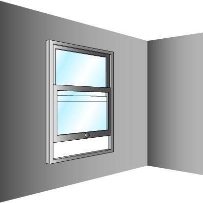 Schéma de fenêtre à guillotine